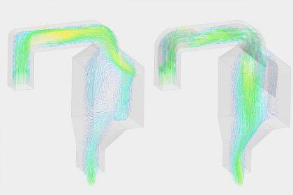 OptimumOne optimiert Industrieanlage mittels Strömungssimulation