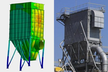 Erdbebenberechnung und Standsicherheitsnachweis einer Filteranlage von OptimumOne