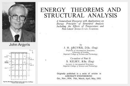 Geschichte der Finite-Elemente-Methode | John Hadji Argyris war maßgeblich an der Entwicklung der Finite-Elemente-Methode beteiligt